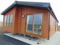 Stunning Luxury Lodge With Direct Beach Access on North Wales Coast !!