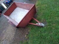 Sturdy trailer