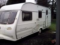 Avondale grampian XL 4 berth caravan