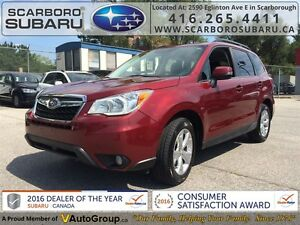 2014 Subaru Forester 2.5i Limited PKG,  FROM 1.9% FINANCING AVAI