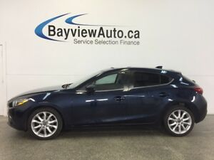 2015 Mazda Mazda3 GT- 6 SPEED! TINT! ROOF! HTD SEATS! BOSE! NAV!