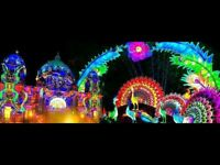 2 x Tickets for the Festival of Light, Bristol