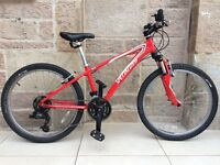Specialized Hot Rock Junior Mountain Bike, suitable for age 8 to 14