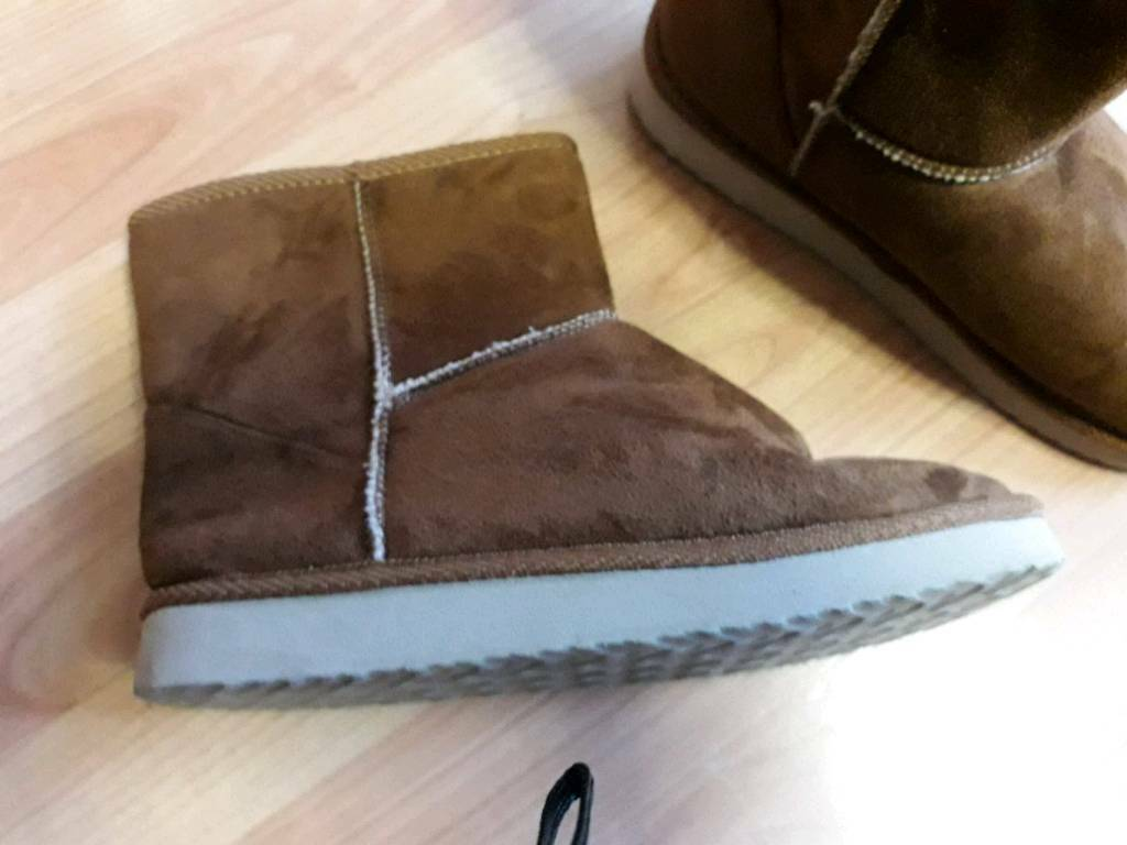 ba54c525354 3 Pairs of Ugg type boots   in Leicester, Leicestershire   Gumtree