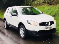 Mint Dec 2012 (facelift model) Nissan Qashquai 1.6 Visia 5dr trade in welcome, credit cards accepted