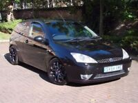 EXCELLENT VALUE!! 2004 FORD FOCUS 2.0 ST, 6 SPEED, FULL LEATHER SPORT SEATS, LONG MOT