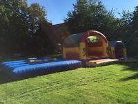 Inflatable gladiator joust