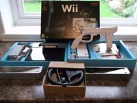 Wii Mario Kart complete boxed