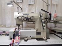 Kansai Special WX-8803F 2/3-Needle Industrial Coverstitch Sewing Machine