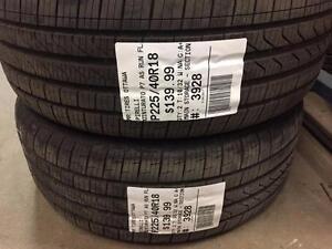225/40/18 Pirelli Cinturato P7 AS **RUN-FLAT TIRES** (All Season)