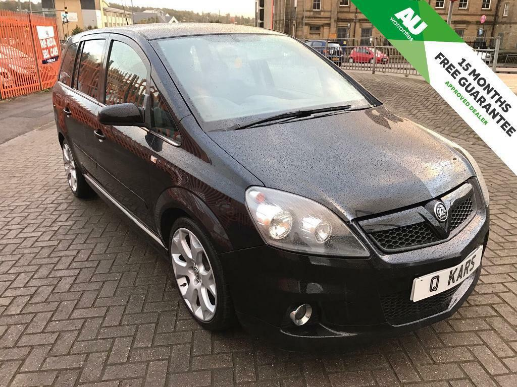 2007 (07) VAUXHALL ZAFIRA VXR 2.0 TURBO 240BHP/ FULL ENGINE REBUILD