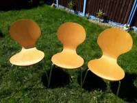 3 x kitchen chairs