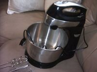 5 speed electric food mixer with turbo