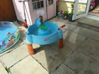 Lilly pad water tray