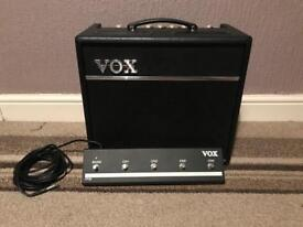 VOX VT40+ Amp with Footswitch and Original Box
