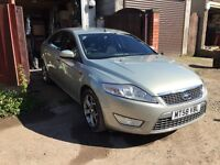 2009 Ford Mondeo Mk4 Titanium. Silver 1.8 TDI. MOT until Feb 2017.