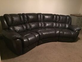Lazy Boy Augusta Curve 4 seater power recliner