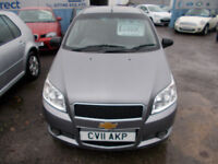 PART X DIRECT OFFERS VERY CLEAN 1.2 CHEVROLET AVEO 3DR NEW MOT, WARRANTY+SERVICE FINANCE AVAILABLE