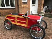 Ford woodie pedal car
