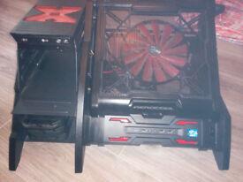 AeroCool PC Open Case STRIKE-X-AIR Gaming PC Case