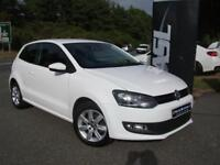 VOLKSWAGEN POLO 1.2 60 Match Edition (white) 2014