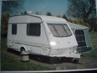 elddis elf 2 birth small caravan average car will pull it