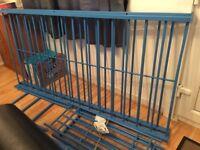 Blue Metal Bunk Bed