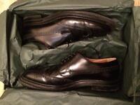 Church's women's burwood black leather shoes