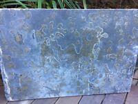 8 Natural slate tiles 60 x 40cm