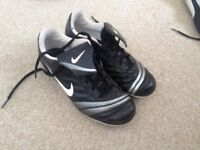 Nike, Size 4 Football / sports boots, bought for a lady, Hardly used