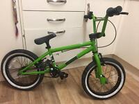 Age 4 to 8 years diamond-back BMX mint condition & free local delivery @ £65