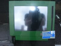 GREEN Compact EPOS Till System with MSR Reader, Customer Display, Cash Drawer & Software