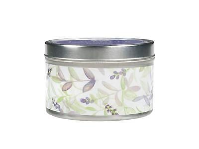 GREENLEAF 6  oz. Large Candle Tin:  LAVENDER  New Item!  Very Fragrant!!  on Rummage