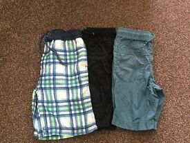 Boys shorts age 7-8 years