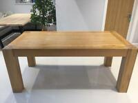 Solid Oak Table size 1800x800 £100 ONO