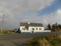 Cottage in Outer Hebrides available to rent from mid-March 2018