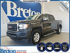 2016 GMC CANYON 2WD CREW CAB V6 - 2X4