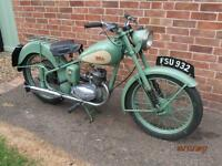 BSA BANTAM D1 1953 125cc