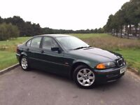 1999 BMW 3 SERIES 318 PETROL 5 SPEED MANUAL**91,000 WITH FULL SERVICE HISTORY**MOT 15th OCTOBER 2018