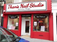 Thams Nail Studio. Nail Technicnan Required Must be fully Experienced.