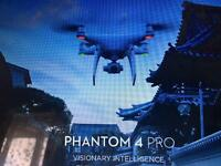 Dji phantom 4 pro with screen
