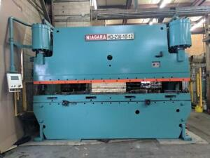 Niagara Model :HD 230-10-12 Hydraulic Press Brake