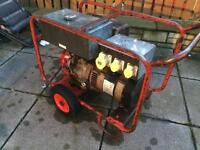 7.5kva Honda generator. 110v