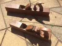 Wooden Planes x 2
