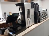 COFFEE MACHINE AND 6-month-old equipment is ready for your new coffee shop, HUGE DISCOUNTED PRICES