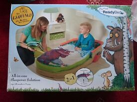 Gruffalo My first toddler ready bed, a great xmas present. Still boxed, unused.
