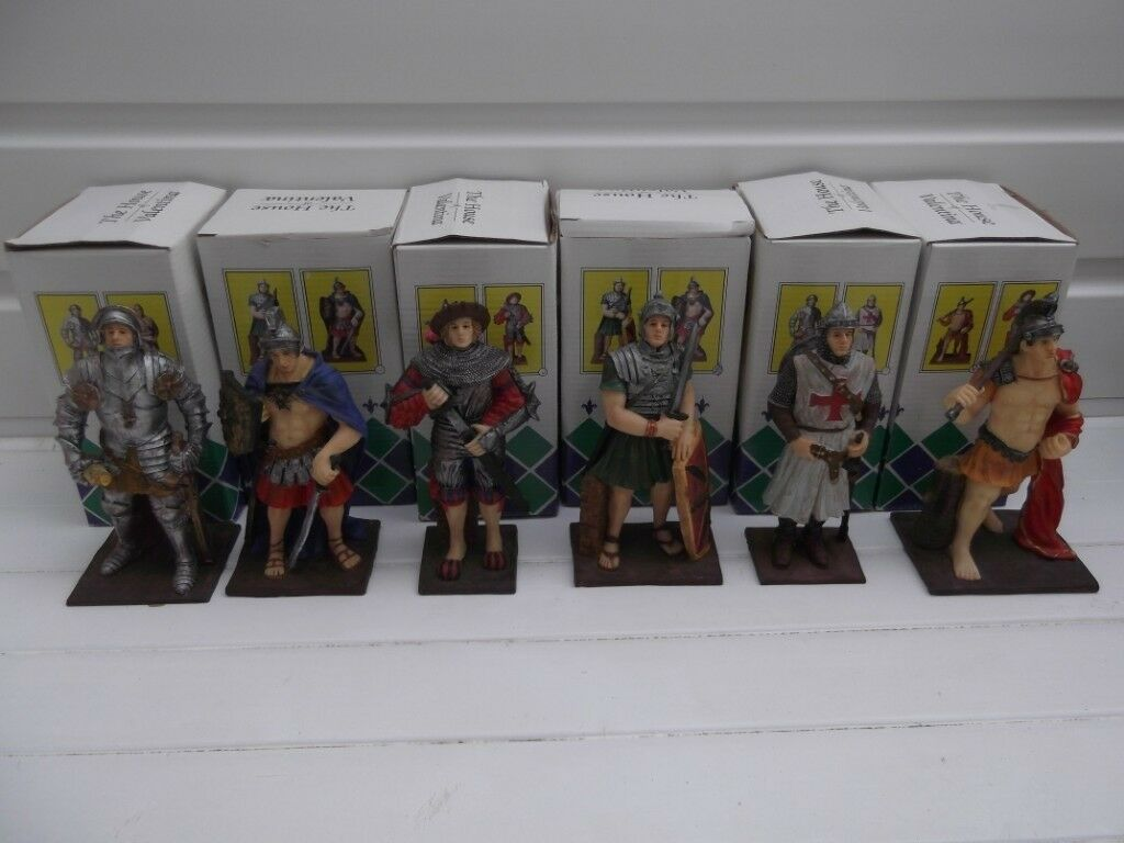 Set of 6 large military figures by Valentina   in Worthing, West Sussex    Gumtree