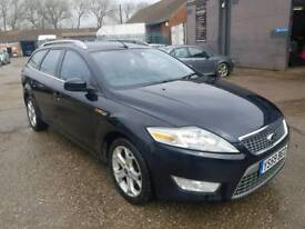 FORD MONDEO 1.8 DIESEL TITANIUM ESTATE FULLY LOADED CAM BELT SNAPPED!!
