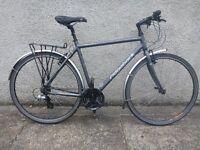 "Ridgeback Velocity Hybrid bike - 19"" frame Shimano equipped"