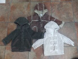 Baby Boys Outerwear Bundle 6-9 months All Next